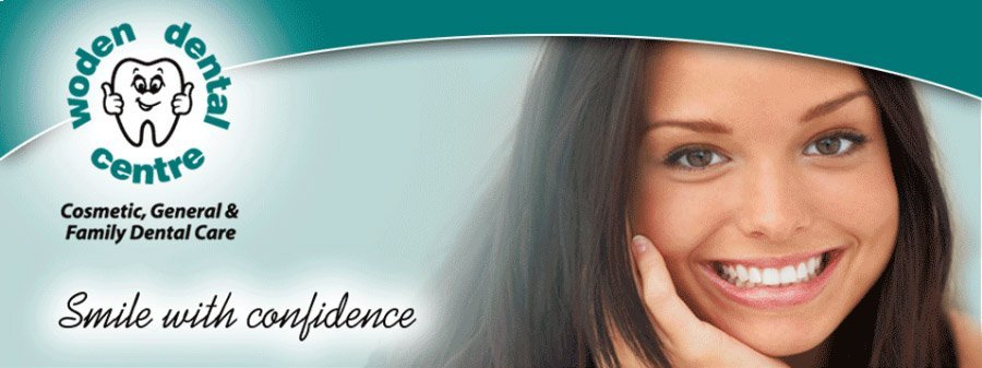 A Female with a beautiful smile does so with confidence becasue of woden dental centre