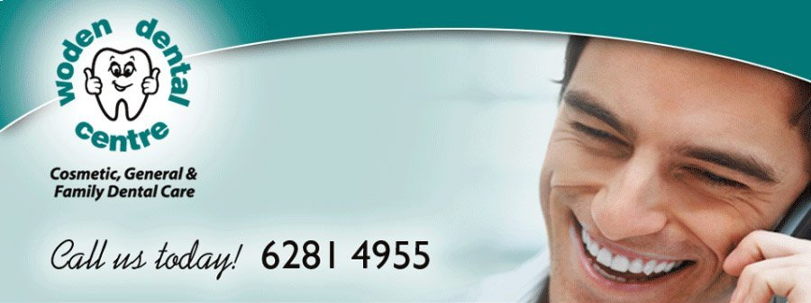 A man smiling during a call at woden dental centre
