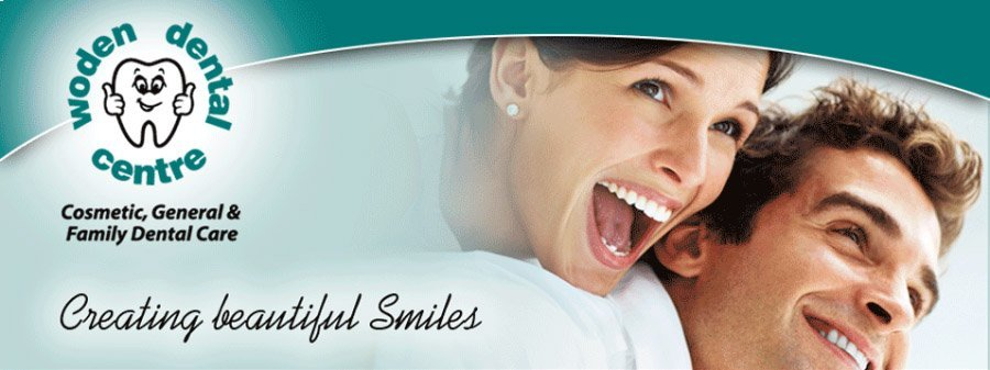 A family portrait all of whom have beautiful smiles, welcome at woden dental centre