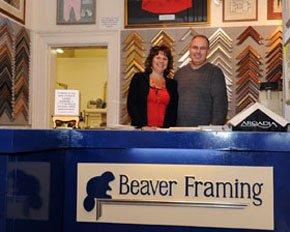 Professional framing - Abergavenny, Wales - Beaver Framing Ltd - Framing Services