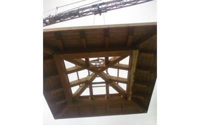 Tettuccio per torretta ascensore - Varese