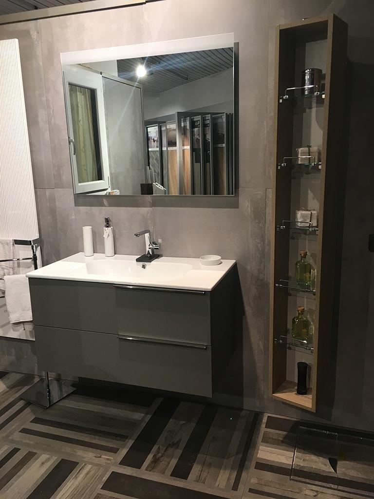 Mobile bagno Isa serie Materia colonna girevole