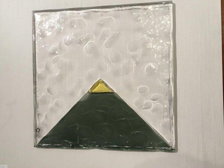 Leucos verde + trasparente cm. 37x37 da Marino srl Abbiategrasso Milano