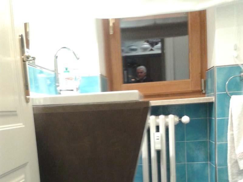 lavatoio rivestito in kerlite della Cotto D Este