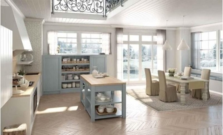 cucine country ad isola