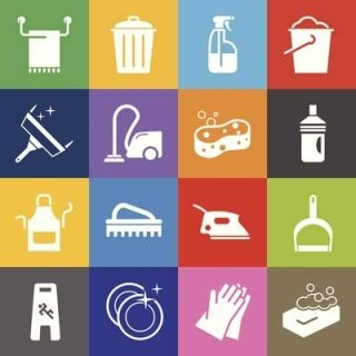 attrezzature per pulizie