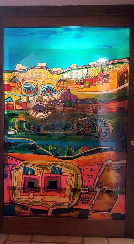 vasi in vetro, opere arte vetro, quadri in vetro