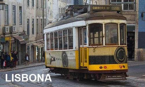 tram turistico a Lisbona