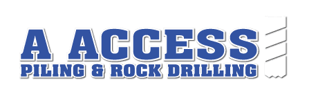 a access piling and rock drilling logo
