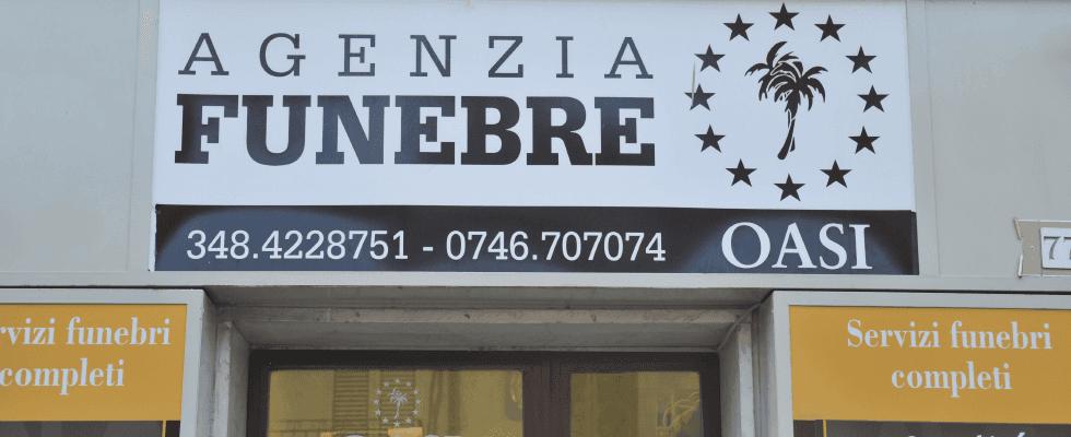 Oasi Rieti, Agenzia Funebre Oasi, Contigliano, Rieti