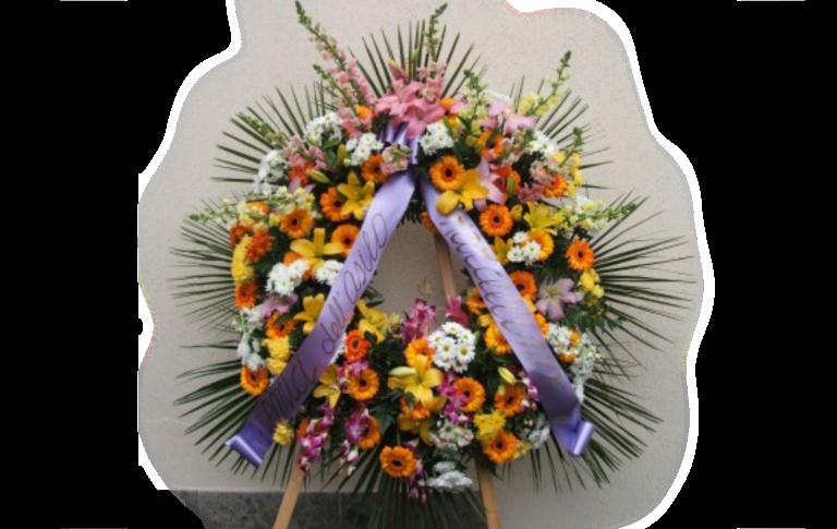 corone floreali, addobbi floreali funebri, Rieti, Contigliano,
