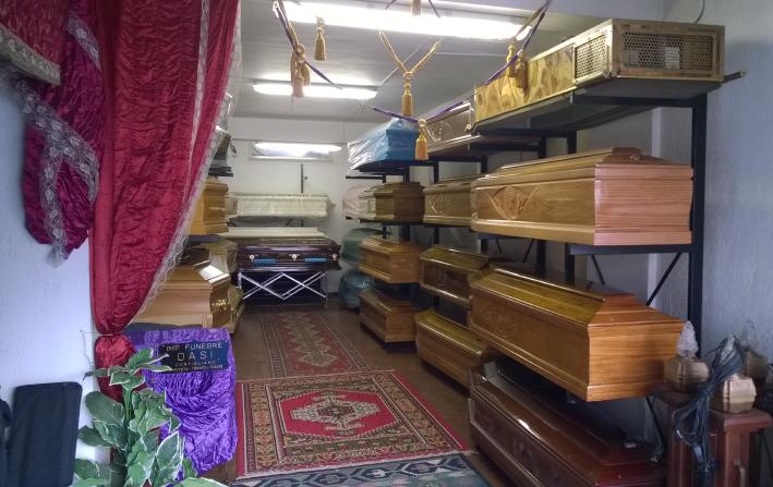 arte funebre, articoli funerari, Rieti, Contigliano