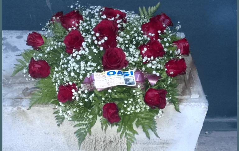 mazzi di fiori, composizioni floreali, corone, addobbi floreali, Rieti, Contigliano