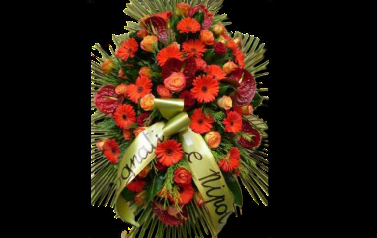 corone, cuscinetti, cuscini floreali, addobbi floreali funebri, Rieti, Contigliano,