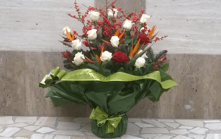 composizioni floreali, piante, mazzi di fiori, corone floreali, Contigliano, Rieti