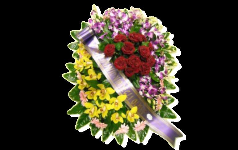 corone, corone floreali, cuscinetti, addobbi floreali funebri, Rieti, Contigliano,