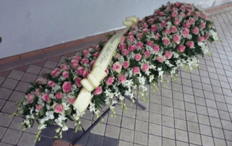 Copribara, addobbi floreali funebri, Rieti, Contigliano,