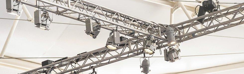 Allestimenti, noleggio, servizio audioluci per lo spettacolo