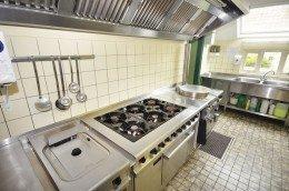 Complete horeca keuken groepsaccommodatie De Cyprian