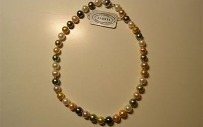 Collana in perle piccola dimensione