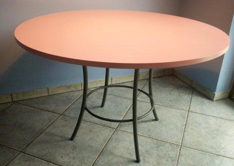 tavolino in ferro
