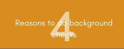 Pay Now Or Pay Later 4 Reasons To Do Background Checks