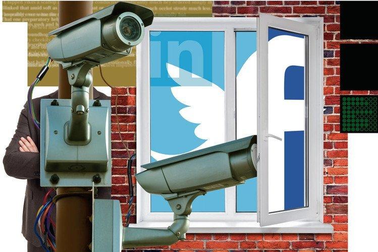 social media for background screening