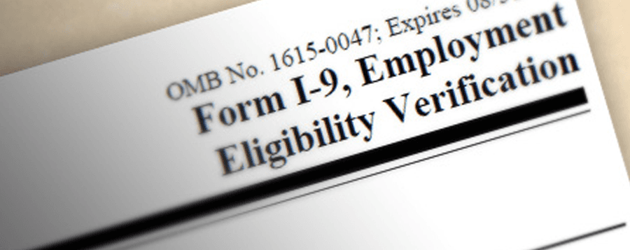 employer i-9 eligibility form