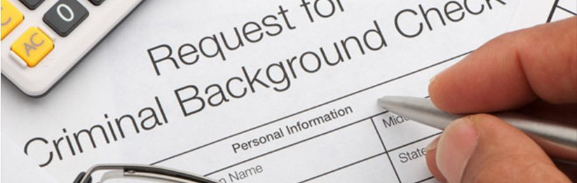 request criminal background check