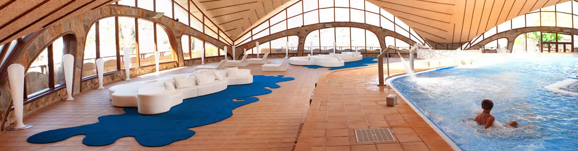 Thalassotherapy Circuit at Gloria Palace cycling camp in Gran Canaria Spain