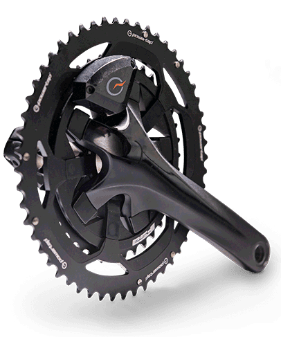 PowerTap chain ring for cycling camps