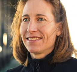 coach and pro cyclist Amber Neben, guide for cycling camps