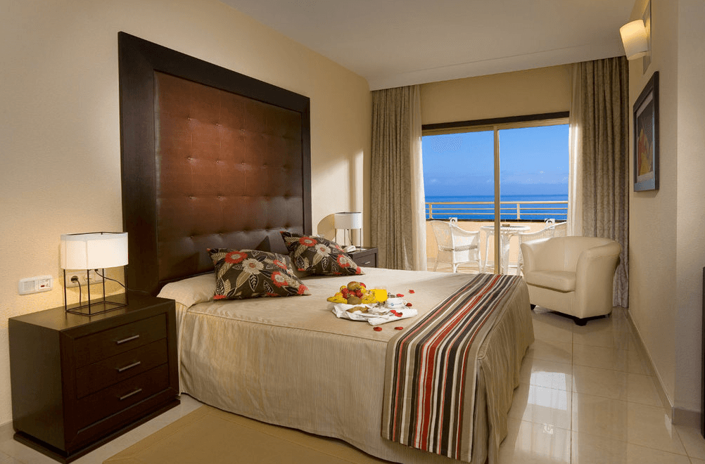 premium room at Gloria Palace cycling camp in Gran Canaria Spain