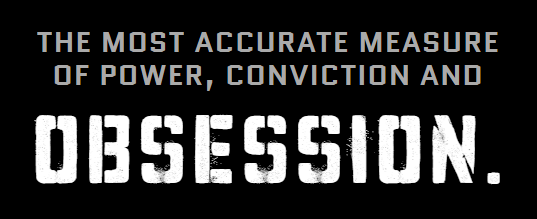 Powertap - the most accurate measure of power, conviction, and obsession