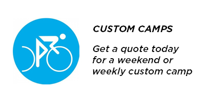 Custom cycling camp packages