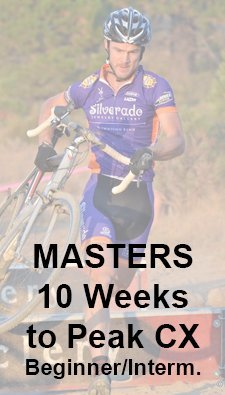 cyclocross training plan - 10 weeks to masters peak CX