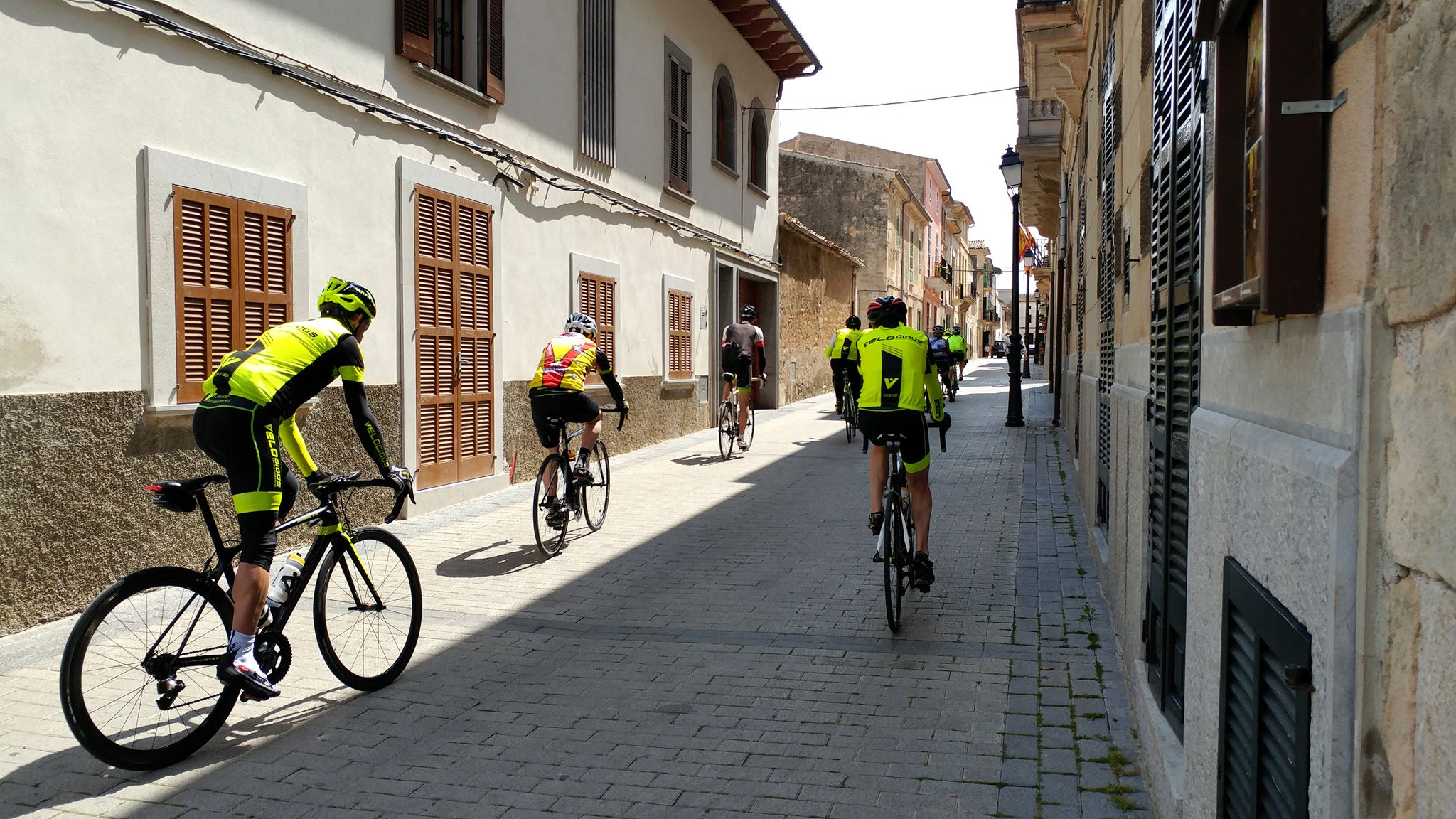 cycling camp in Spain