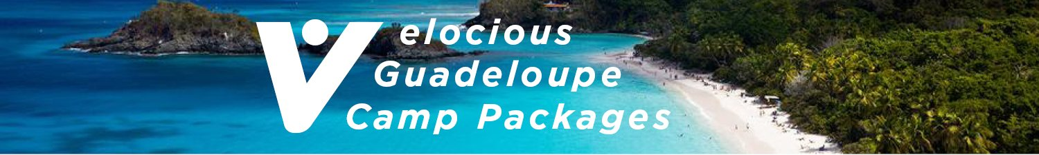 Guadeloupe cycling camp packages