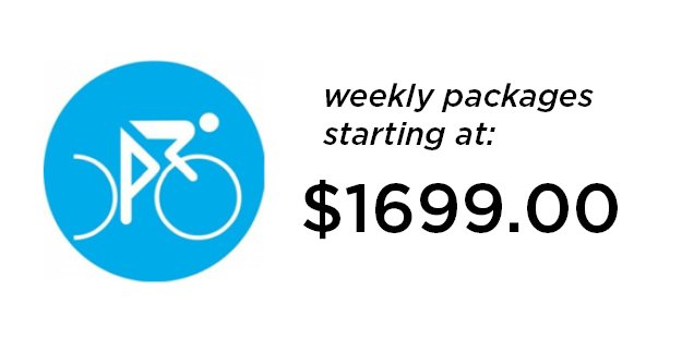 cycling camp weekly packages