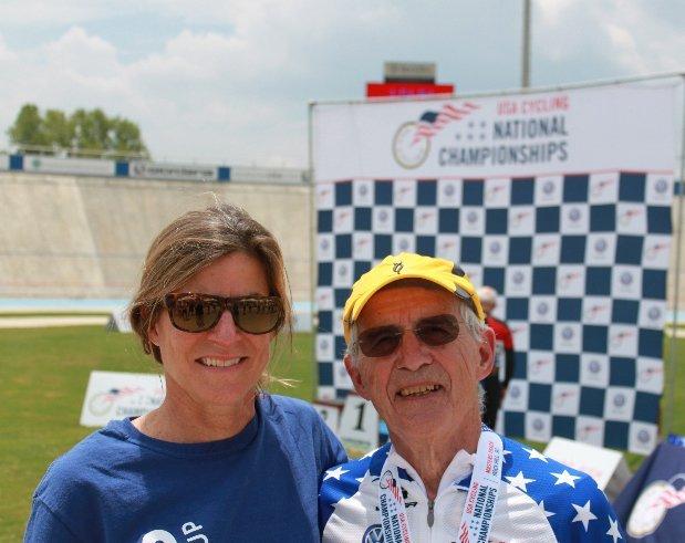 USAC coach Kathy Watts