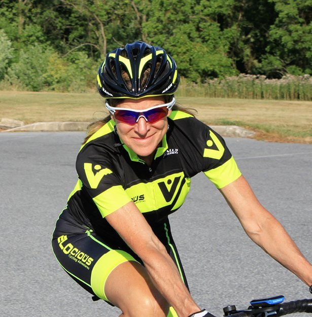 coach Kathy Watts, guide for cycling camps
