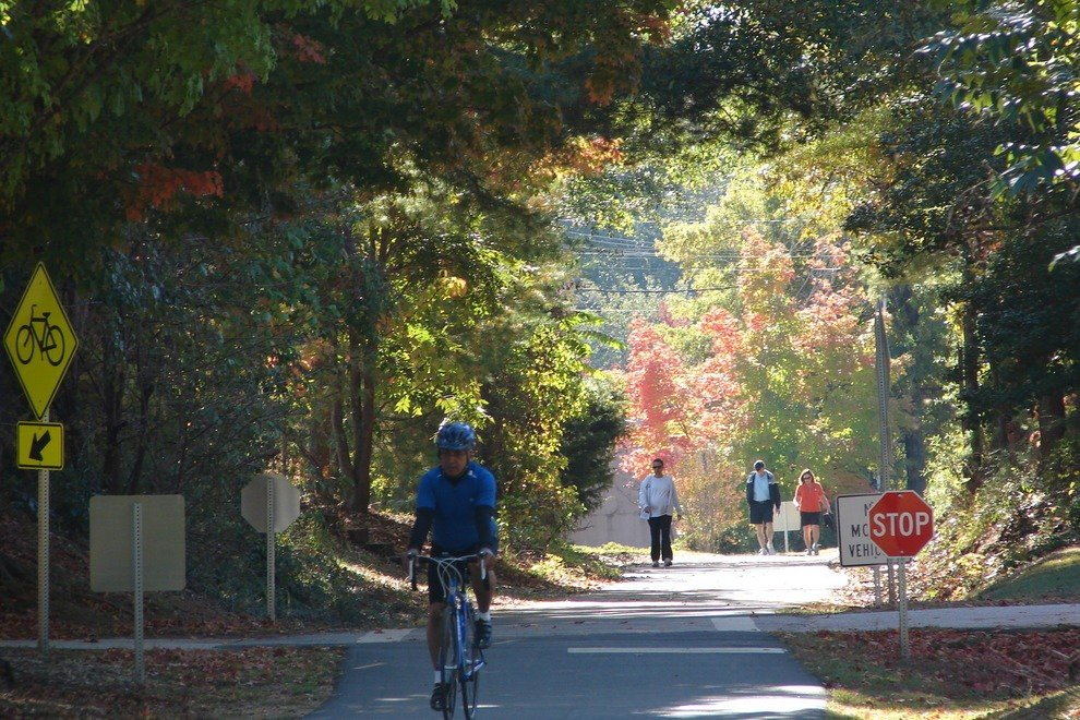 Swamp Rabbit Trail in Greenville South Carolina