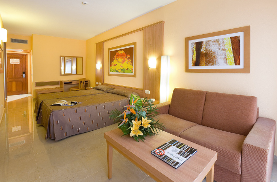Cycling camp room in gran canaria Spain