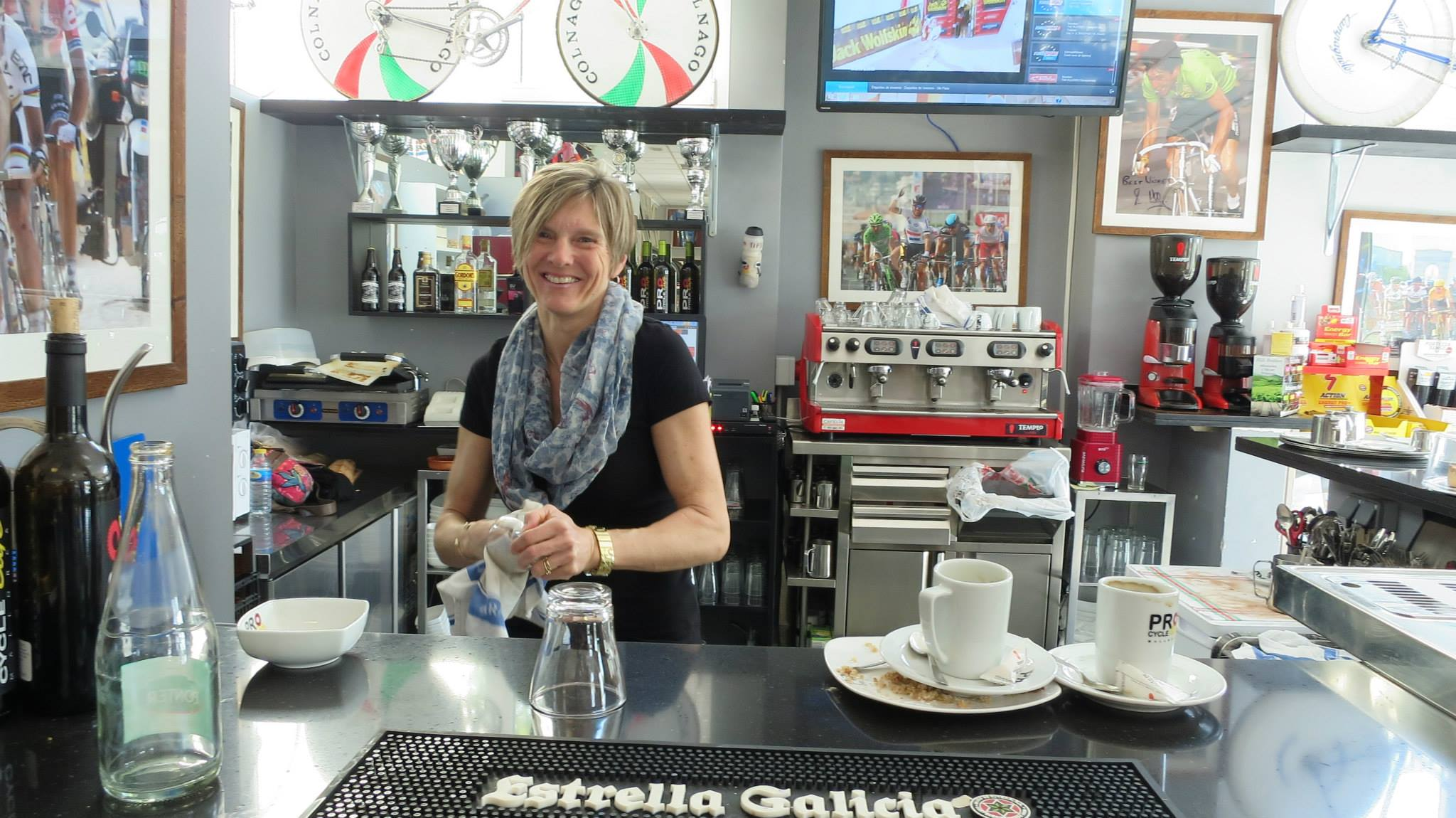 Probike Hire bike shop at cycling camp in Mallorca Spain