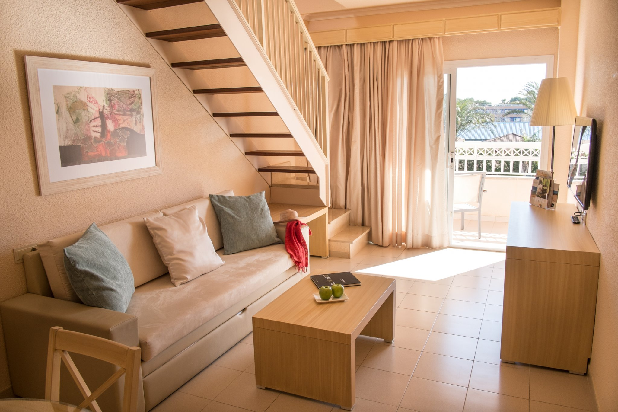 premium room at Viva Blue and Spa cycling camp in Mallorca Spain