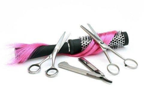 attrezzi da parrucchiere
