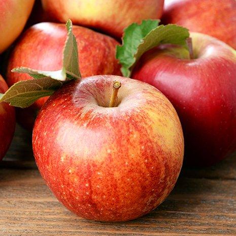 delle mele rosse