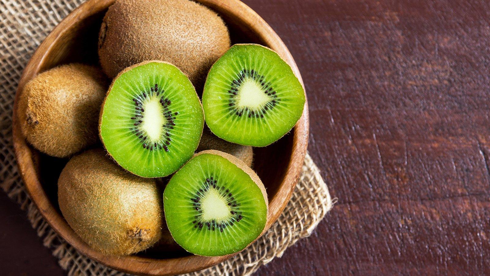 fette di frutta kiwi