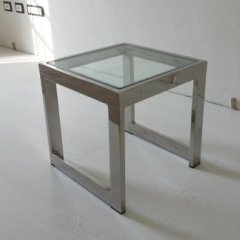 tavolino inox