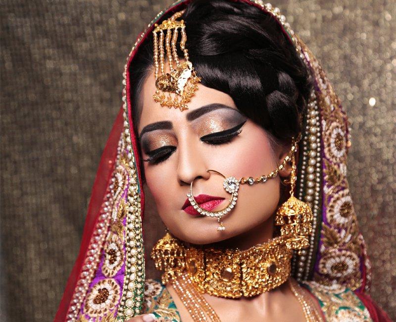attractive bridal makeup